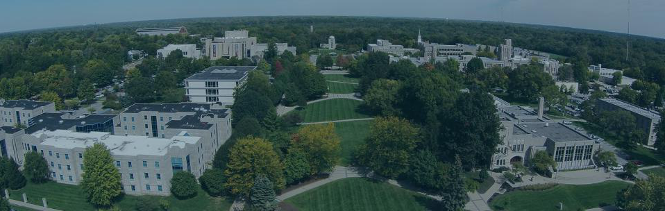 Background banner of Butler campus for alumni page